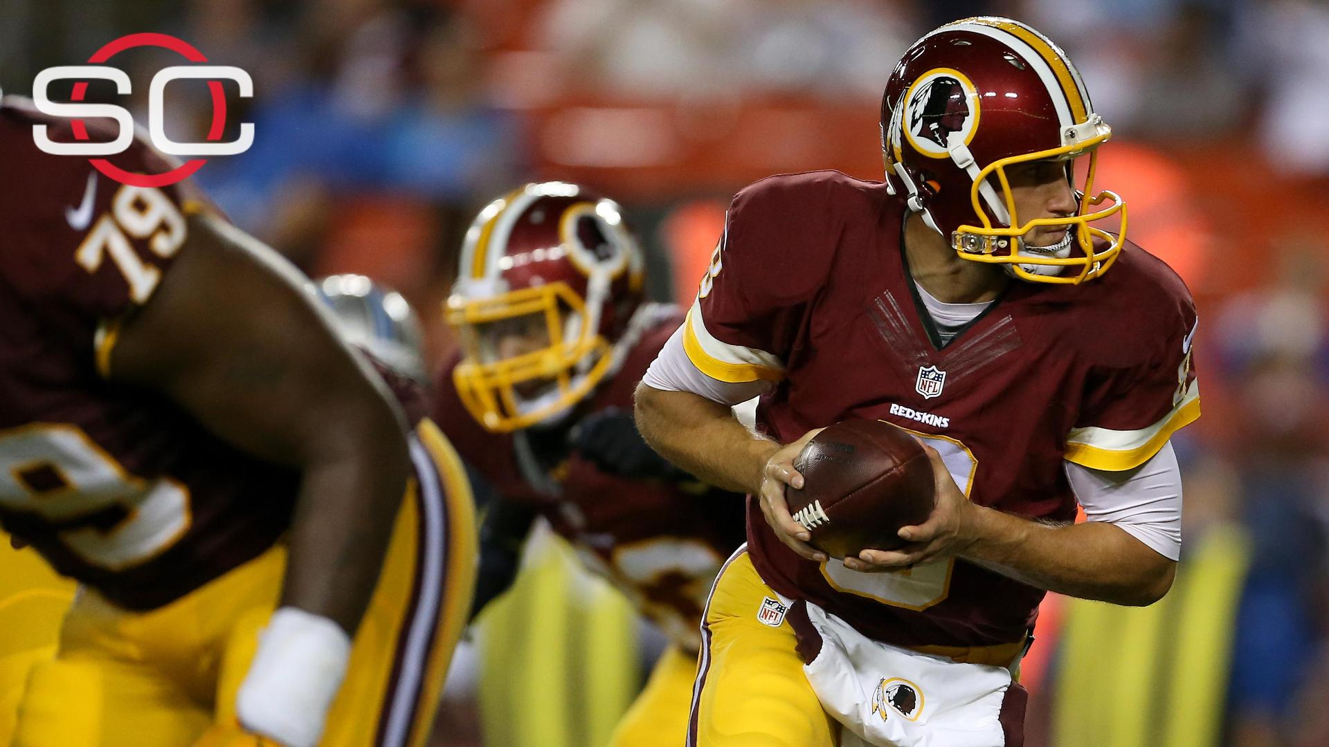 Sources: Redskins name Kirk Cousins starting QB for Week 1