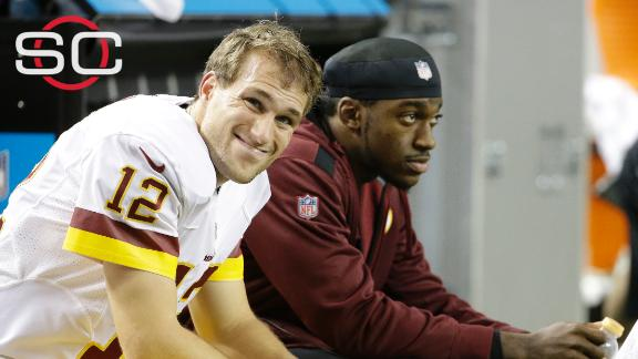 Does RG III's concussion pave the way for Kirk Cousins?