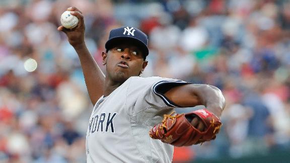 Yankees' Luis Severino looks like a playoff starter