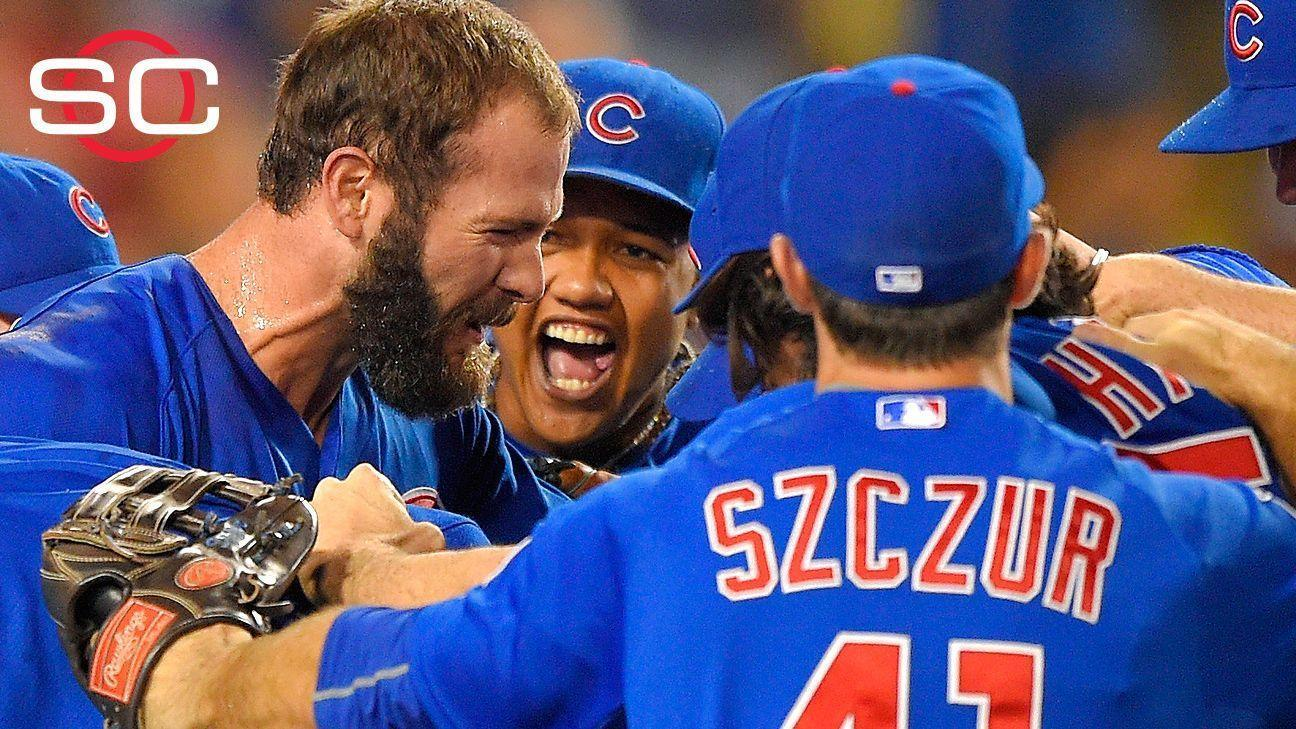 Arrieta throws no-hitter against Dodgers