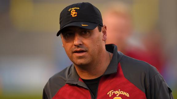 AD Pat Haden: Discipline of Steve Sarkisian 'in best interest of USC'
