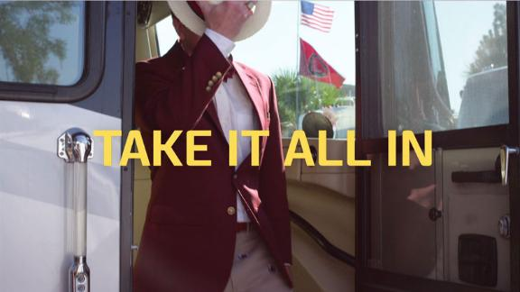 SEC Network 'Take It All In' - Dressing Up