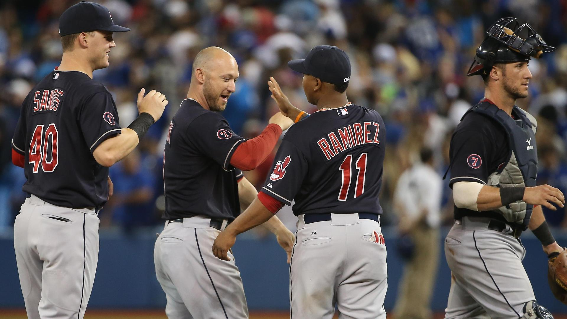 Indians win sixth straight