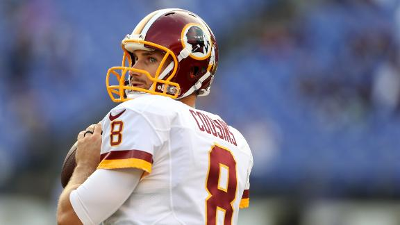 Video - Redskins' offense won't change with Kirk Cousins at QB