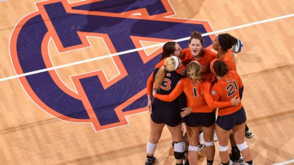 Auburn stumps Florida A&M in straight sets