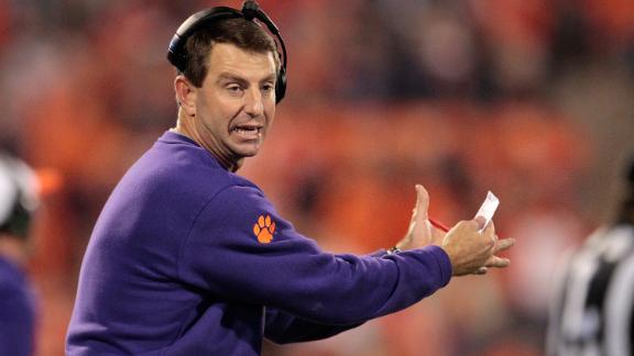 Swinney: Clemson not elite