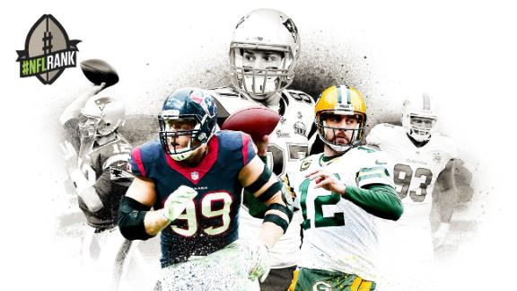 Watt headlines #NFLRANK: Top 100 players