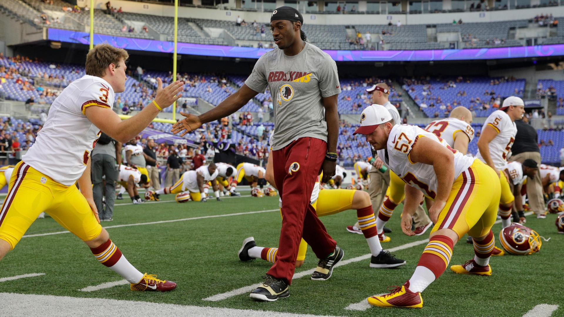 Saturday: It's time to release RG III