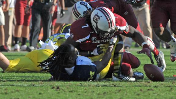 Mobile Memories: The hit that put Clowney on the map