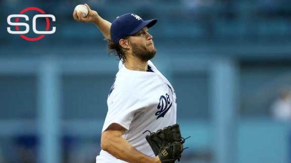 Kershaw the top-rated pitcher tonight?