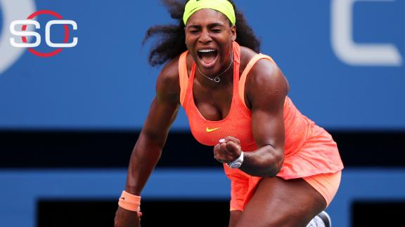 Serena fights off tough challenge from Bertens