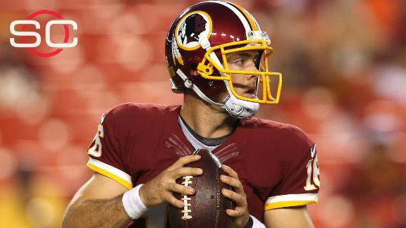 Video - Colt McCoy tosses touchdown in loss