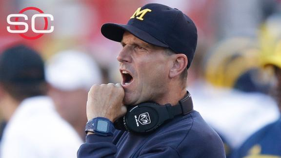 Harbaugh's impressions of first game at Michigan
