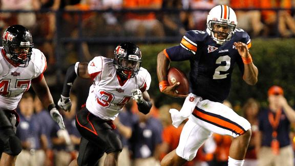 FBF: Cam Newton dazzles in Auburn debut