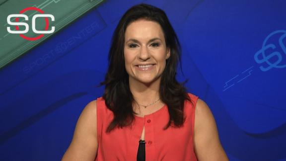 Jen Welter: 'It was very natural with the guys'
