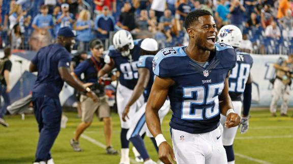Video - Titans aided by forced turnovers in preseason