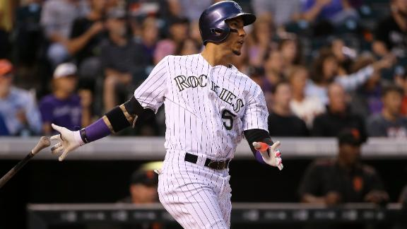 Rockies send Giants to seventh straight loss