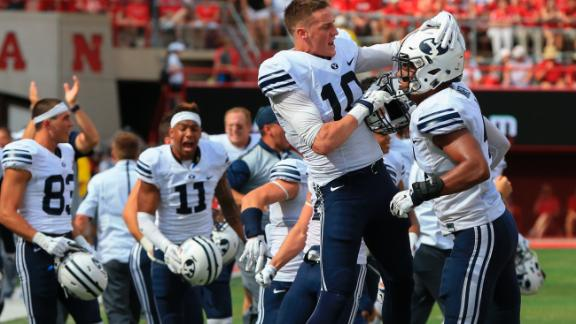 BYU stuns Nebraska on final-play Hail Mary