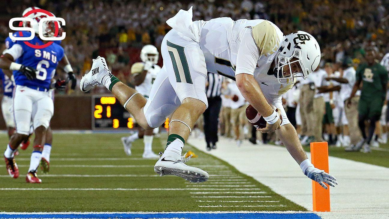 Baylor's offense flying high again in win