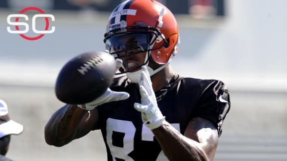 Browns cut Terrelle Pryor