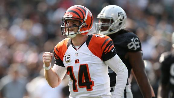 Bengals make easy work of Raiders in opener