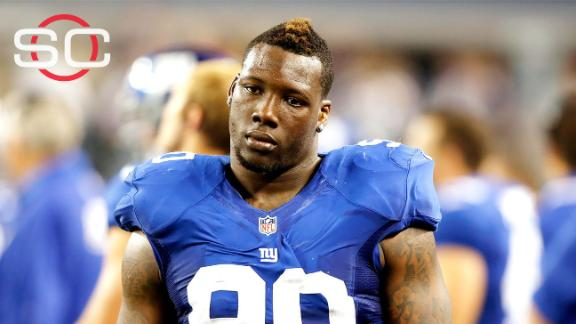 Giants fear Pierre-Paul may miss season