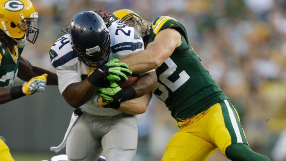 Clay Matthews vs. Marshawn Lynch
