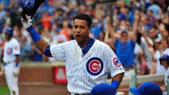 Castro's six RBIs power Cubs past Cards