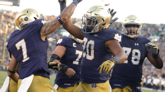 Irish make playoff statement vs. Jackets