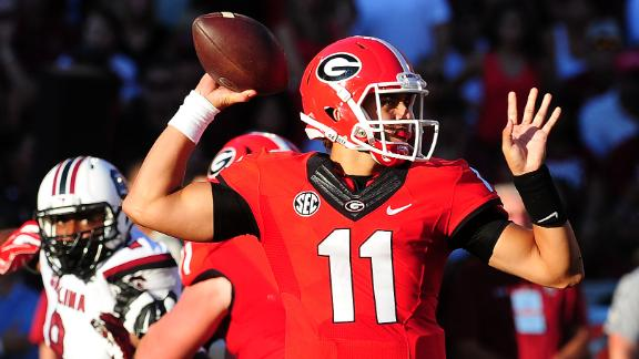 Greyson Lambert: 'I just tried to play football'