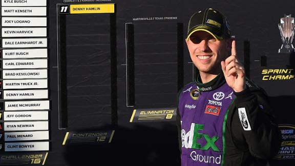 Hamlin: 'It was a heck of a comeback for sure'