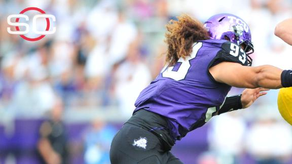 TCU DE Tuaua arrested, allegedly struck student