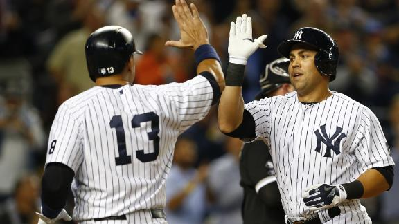 Beltran's home run enough as Yanks hold on