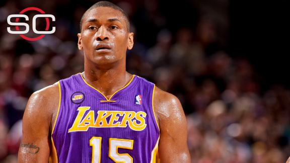 Lakers give World Peace another chance