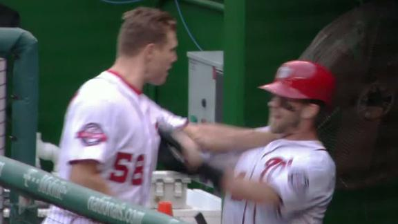 Papelbon, Harper fight in dugout