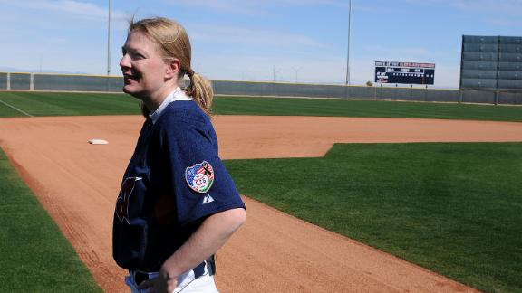 Siegal first female coach in MLB history