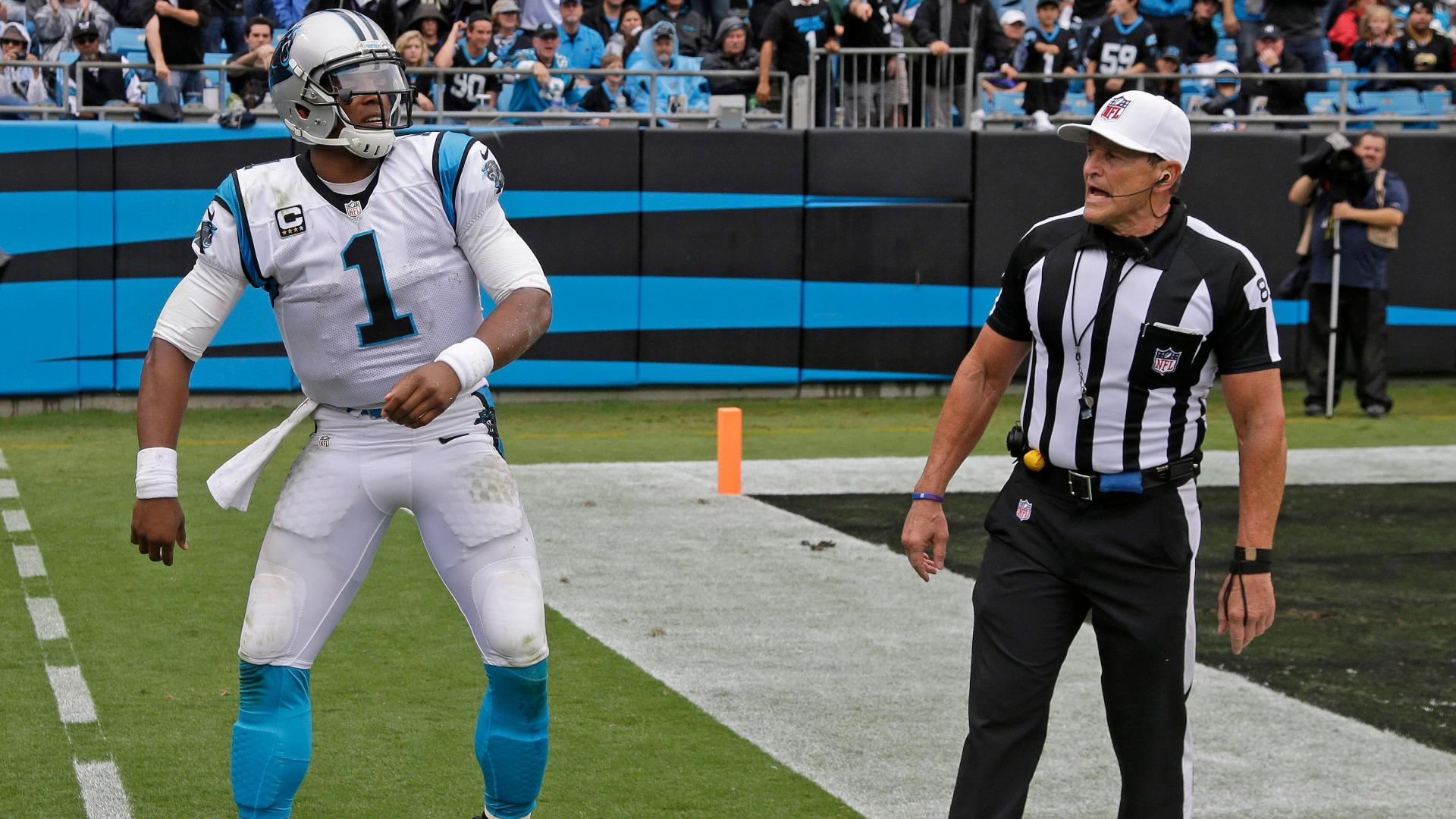 DeMaurice Smith: Cam Newton-Ed Hochuli incident much ado about nothing
