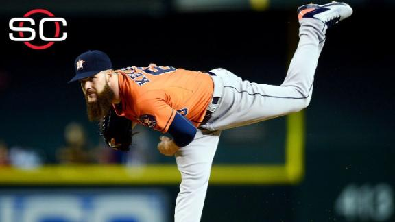 Keuchel picks up 20th win in rout