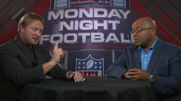 Gruden: Lions 'in for a real difficult night' in Seattle on MNF
