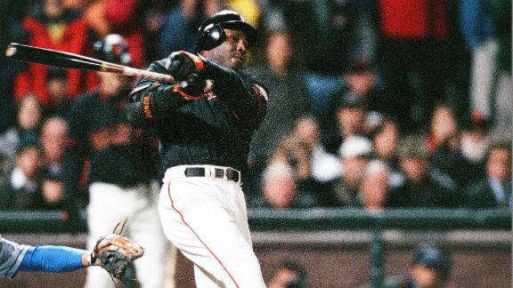 Rewind: Bonds belts record-breaking home run