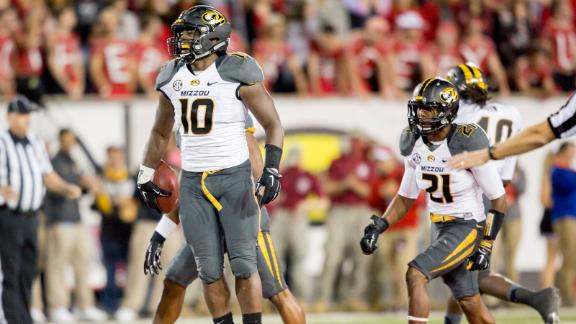 Missouri's defense leading the way for the Tigers