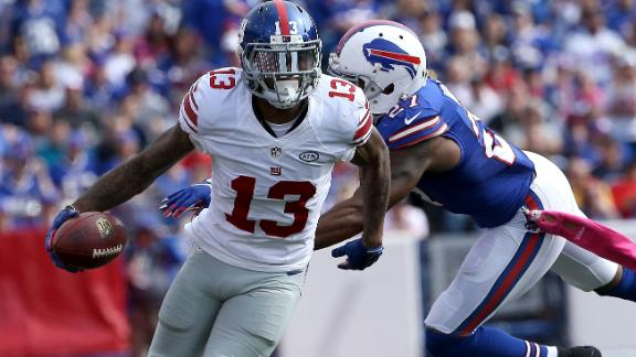 Source: Beckham Jr. fined for antics in Buffalo