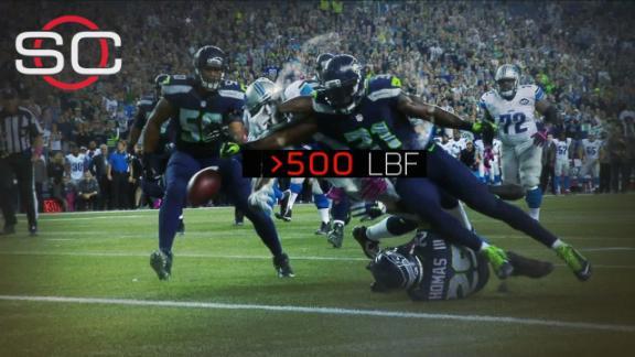 Sport Science: Megatron's goal-line fumble