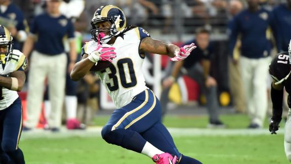 Fantasy Rankings: Gurley on the rise