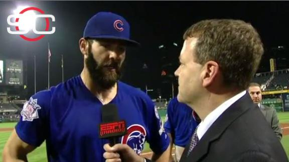Arrieta, Cubs riding momentum into St. Louis