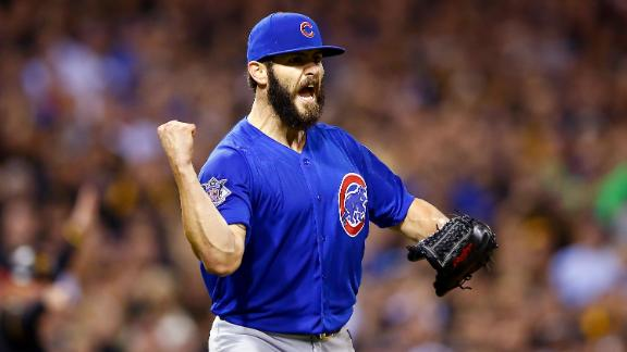 Arrieta shuts down Pirates to advance Cubs to NLDS