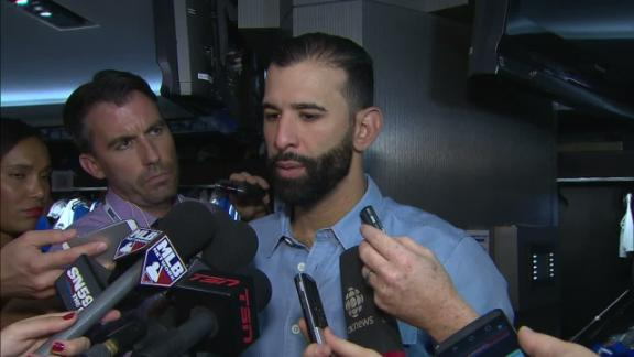 Bautista: 'I should be ready to go tomorrow'