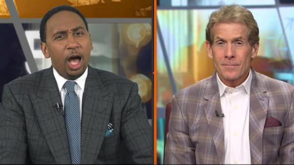 Stephen A. goes off on Skip about Kobe