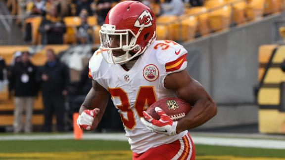Chiefs don't have Jamaal Charles' replacement on their roster
