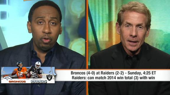 Raiders poised to upset Broncos?